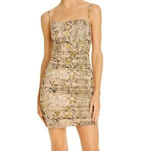 GUESS Jocelyn Snake Print Body-Con dress (size 6)